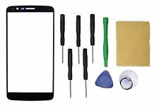 Black Outer Front Screen Glass Lens Replacement For LG Stylo 3 LS777+Tools