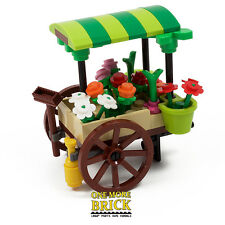 LEGO® Flower Cart / Market Stall Florist. Custom model NEW