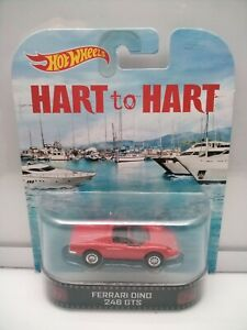 Hot Wheels - Hart to Hart - TV Show / Ferrari Dino 246 GTS - Red - Model Car