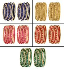 Indian Thread Bangles Bangle Wrapped Women Fashion Bollywood Bracelets Jewelry