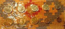 RUSSIA 1968 MINT COIN SET USSR SOVIET UNC  RUSSIAN TOKEN & NINE COINS !  -L@@K-