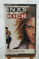 INXS: Kick Cassette Tape Atlantic Records #C153606-81796-4/1987