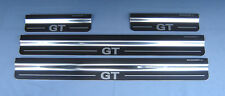 VW Volkswagen Jetta GT 4 Chrome Door Sills Protectors Kick Plates NEW