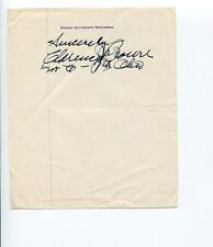 Clarence J. Brown Ohio US Representative Congress Signed Autograph