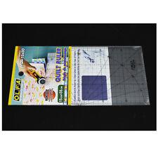 OLFA Quilt Ruler MQR 15X30 Acrylic Ruler