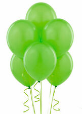 "6pcs Lime Green 11"" Latex Balloons Birthday Party Supplies brand new"