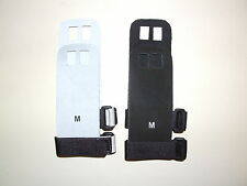Crossfit Palm Guards Grips Hand Protectors Pull Up Lift Bars Leather 3 SIZES