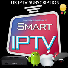 12 month HD IPTV Subscription For Samsung LG~Smart tvs Premium Sports TV+VOD