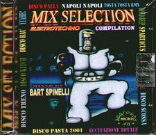 "D.J. BART SPINELLI "" MIX SELECTION "" CD TECHNO SIGILLATO RARO"
