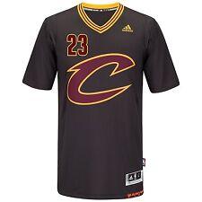 LeBron James Cleveland Cavaliers Swingman Black Short Sleeve Jersey 4XL
