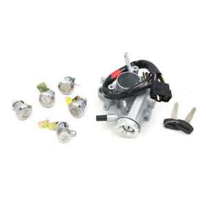 Ignition Switch Cylinder Door Lock Set For 84-89 Toyota Hiace H50 YH61 YH73 LH70