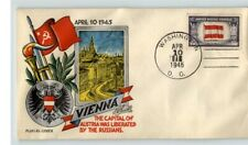 STAEHLE/ Fluegel World War II Patriotic, VIENNA Austria Liberated by Russians, 4