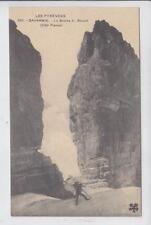 AK Gavarnie, Hautes Pyrenees, Le Breche de Roland, 1920