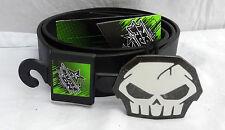 No Fear Skull Symbol Leather Belt - Extra Large - BNWT (C)