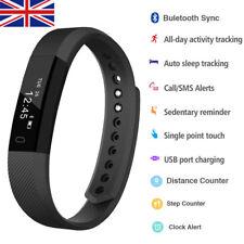 Bluetooth Fitness Activity Tracker Touch Screen Smart Watch Sports Bracelet Pink