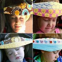 Safety Kids Car Seat Sleep Infant Baby Head Support Pram Stroller Fastening Belt