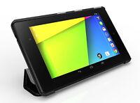 Poetic Slimline【Flip Leather Premium】Case Stand For Google Nexus 7 2nd Gen Black