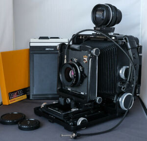 Wista 45SP LF 4x5 Camera, Mint condition with Lens, Viewfinder, Film & Holder