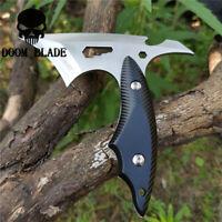 Pocket Karambit Tool Fixed Blade Knife Camping Hunting Survival Tactical Knives