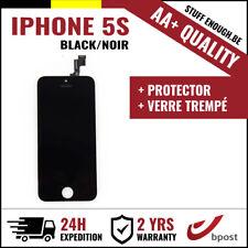 AA+ LCD TOUCH SCREEN DISPLAY SCHERM ÉCRAN BLACK NOIR &VERRE TREMPÉ FOR IPHONE 5S