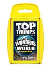 Top TRUMPS Natural Wonders of The World Card Game Winning Moves 2006