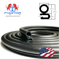 10 feet Rubber Car Door Seal Weatherstrip Body Mounted Front Left or Right