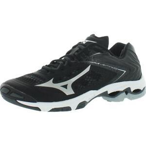 Mizuno Mens Wave Lightning Z5 Black Volleyball Shoes 13 Medium (D) BHFO 4107