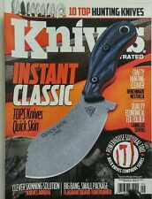 Knives Illustrated Sept Oct 2016 Instant Classic Hunting Knives FREE SHIPPING sb