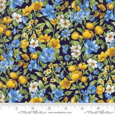 1 Half Metre Moda Summer Breeze IV Flower Print Fabric - 33283-16  100% cotton