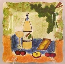 Jay Import Co Wine & Cheese Plate Grapes Fruit Appetizer