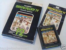 Atari 2600 Breakaway Sears 4 IV Complete Box ATARI 2600 Video Game System #MC2