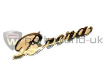 Alfa Romeo Brera Chrome Effect Boot / Trunk Badge 50504885 Brand New Genuine
