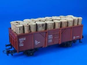 MARKLIN H0 - 4430 - Open Goods Wagon + Load of wood / (34)
