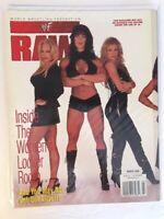 WWF Raw Magazine 1999 March Chyna Debra Sable Rena WWE Divas + Val Venus Poster!