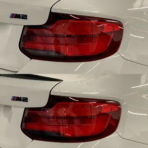 2017 - 2021 BMW M2 228i 240i 2 Series LCI Reverse Light Tint Overlay SMOKE