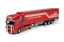 Tekno 63971 Scania R-Serie Longline with curtainside semitrailer Tombers