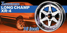 16 Zoll Suzuka Brain Long Champ XR-4 Reifen Felgen 1:24 Model Kit Aoshima 052495