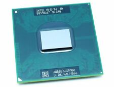 INTEL Core 2 Duo X9100 3.06 GHZ/6M/1066 Socket P Mobile SLGQS CPU Processors