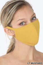 Soft Cotton Face Mask Double Layer Fashionable Reusable Cloth Washable Men Women
