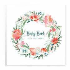 Baby Memory Book for Girls Keepsake Milestone Journal LGBTQ Friendly