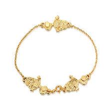 DISNEY Couture Placcati in Oro Alice nel paese delle meraviglie Stregatto Bracciale
