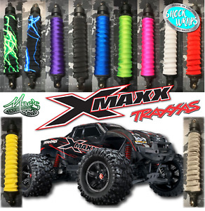 *FITS* Traxxas X-Maxx Xmaxx RC Shock Covers / boots - Springs - RC SHOCK WRAPS
