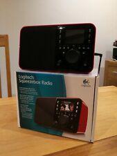 Logitech Squeezebox Radio Digital Media Streamer - Red w/ Original Box