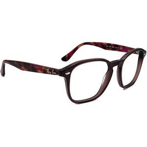Ray-Ban Eyeglasses RB5352 5628 Transparent Purple/Havana Square Frame 52[]19 145