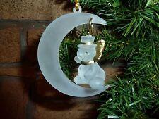 Natale VINTAGE Pupazzo di Neve Natale Ornamento-Rare Vintage trovare
