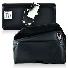 PhoneSuit Elite 6 Holster Metal Belt Clip Case Pouch Leather Turtleback