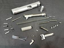 "1911 Builders Slide Kit .45 ACP 5"" 4140 Steel With NOVAK Sight Cuts"