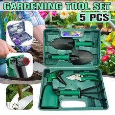 5Pcs Gardening Tools Set Gifts Ergonomic Non Slip Handle Garden Hand Tool Set UK