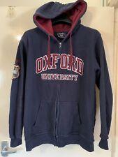 OXFORD UNIVERSITY Full Zip Hoodie Size XL
