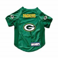 NEW GREEN BAY PACKERS DOG CAT DELUXE STRETCH JERSEY